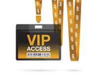 Lanière de VIP Photographie stock