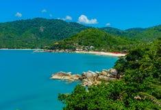 Lanière Nai Pan Beach Images libres de droits