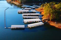 Lanier Marina. A marina community on Atlanta& x27;s Lake Lanier Stock Photos