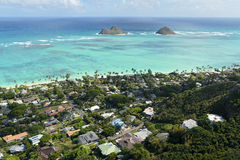 Lanikai Beach Royalty Free Stock Photo