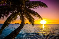 Lanikai Beach Sunrise stock images
