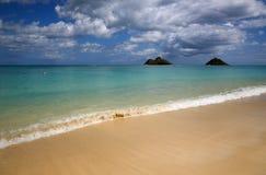 Lanikai Beach Stock Image