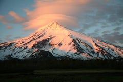 lanin巴塔哥尼亚火山 免版税图库摄影