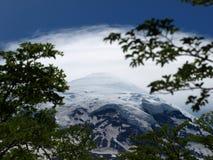 lanin火山 免版税库存图片