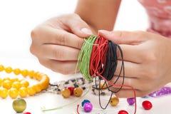 Lanières colorées Images stock