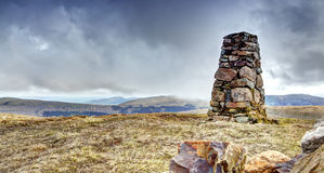 Lank Rigg Summit Royalty Free Stock Images