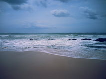 Lanka de bord de la mer Images libres de droits