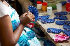 Lanka-Maske lizenzfreie stockfotos