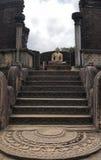 lanka polonnaruwa sri watadage 免版税库存图片