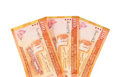 Lankan τραπεζογραμμάτια Sri 100 ρουπίων Στοκ Φωτογραφία