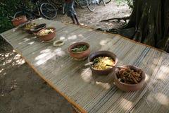 Lankan Lebensmittel Sri Lizenzfreie Stockfotos