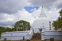 Lankaramaya, Anuradhapura, Sri Lanka Royalty Free Stock Photos
