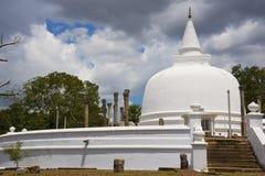 Lankaramaya, Anuradhapura, Sri Lanka Royalty Free Stock Photo
