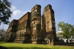 Lankathilaka寺庙, Polonnaruwa,斯里兰卡 免版税图库摄影