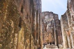 Lankatilaka, Polonnaruwa, Sri Lanka Stock Afbeeldingen