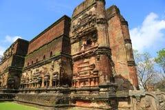 Lankatilaka temple in Polonnaruwa Stock Image