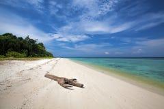 Lankayan Island. Resort at daytime in Borneo, Malaysia Royalty Free Stock Photos