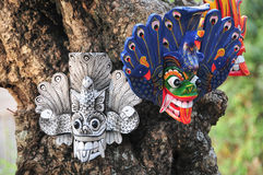Lankijczyk tradycyjna maska Obrazy Stock