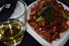 Lankijczyka arak & diabła kurczak Fotografia Royalty Free