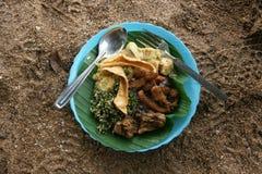 Lankijczyka jedzenie Zdjęcie Stock