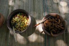 Lankijczyka jedzenie Zdjęcie Royalty Free