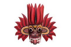 Lankijczyka ogienia maska Zdjęcia Stock