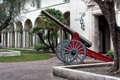 Lankmark Cannon on the Campus of the University of California in Royalty Free Stock Photos