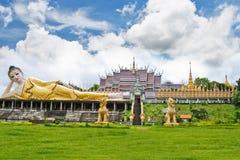 Lanna świątynia w Tajlandia. Obraz Stock