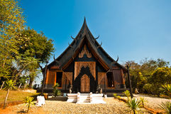 Lanna ancient architecture Traditional northern Thai style Royalty Free Stock Photos