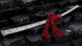 Lanna Bronze Sword royaltyfria foton