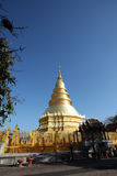 Lanna chedi Stock Photography