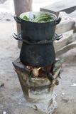 Lanna Cooking Greens Imagen de archivo libre de regalías