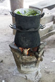 Lanna Cooking Greens Royalty Free Stock Image