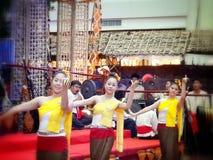 Lanna dance Stock Image