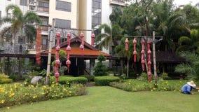 Lanna Hotel Stockfoto