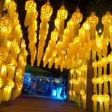 Lanna Lamp royaltyfri bild