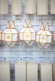 Lanna lantern Royalty Free Stock Photography