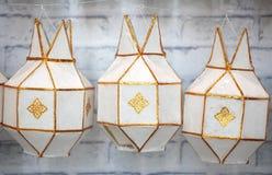 Lanna lantern Royalty Free Stock Photos