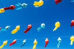 Lanna lantern festival decoration. Lampang ,Thailand royalty free stock photo