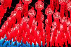 Lanna lanterns Stock Image