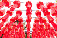 Lanna lanterns Royalty Free Stock Image