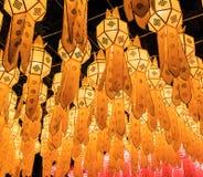 Lanna lanterns Royalty Free Stock Photos