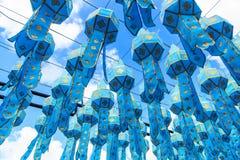 Lanna lanterns Royalty Free Stock Photography