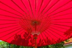 Lanna paraply Arkivbild