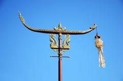 lanna słupa niebo tajlandzki Zdjęcia Royalty Free