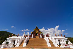 The Lanna style  in Chiang Mai Royalty Free Stock Photos