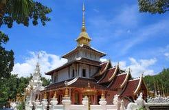 Lanna tajlandzka architektura Fotografia Royalty Free