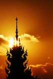 Lanna Tempel Stockfotografie