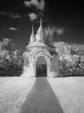 Lanna tempel Royaltyfri Fotografi