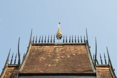 Lanna-Tempeldach lizenzfreies stockbild
